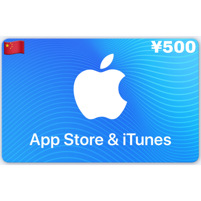 Apple App Store & iTunes Gift Card China ¥500