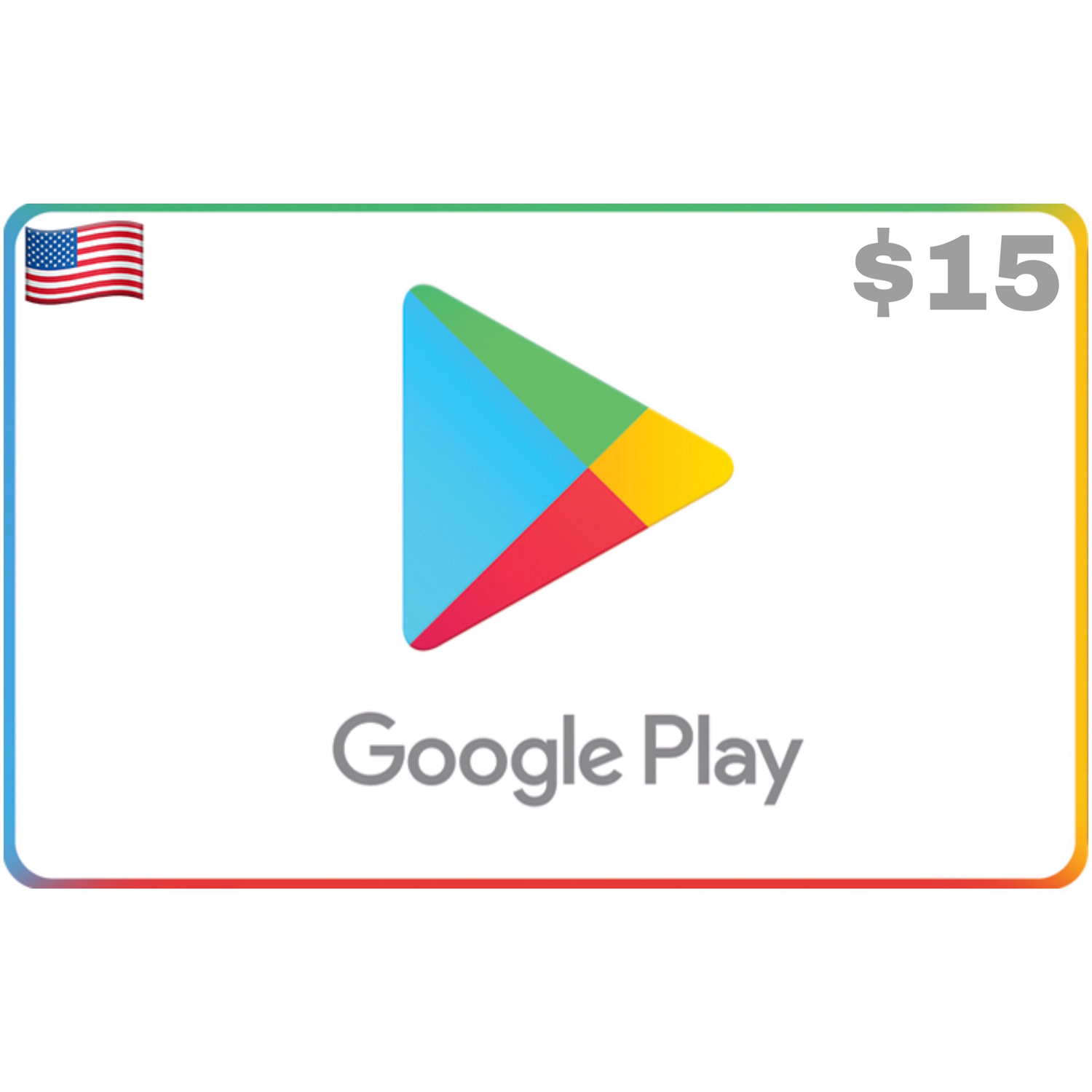 Google Play Gift Card US $15
