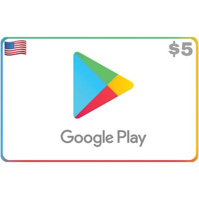 Google Play USA $5 (Gift Code)