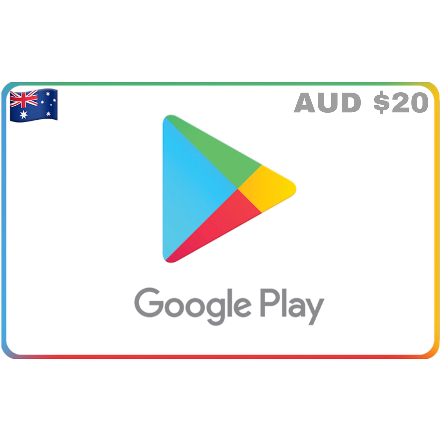Google Play Gift Card Australia $20