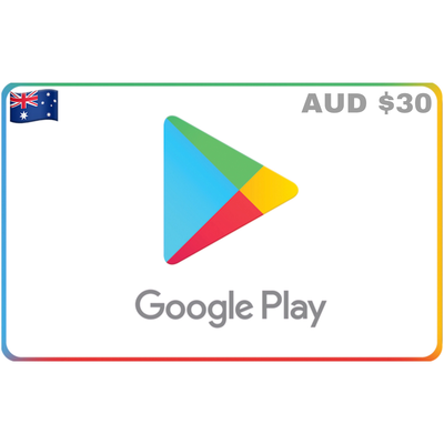 Google Play Gift Card Australia $30