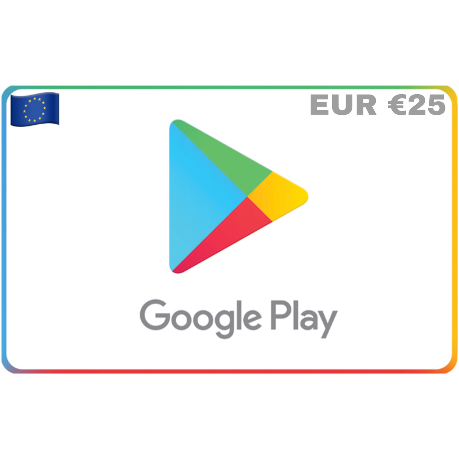 Google Play Gift Card Europe €25