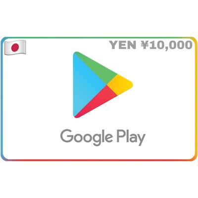 Google Play Gift Card Japan ¥10,000