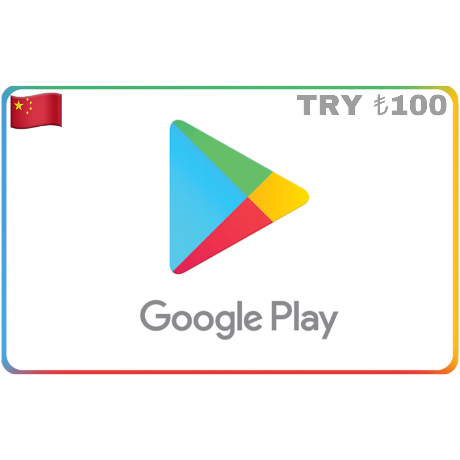 Google Play Gift Card Turkey TRY ₺100