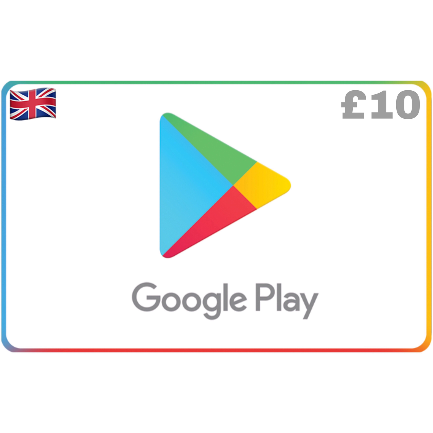 Google Play Gift Card UK £10