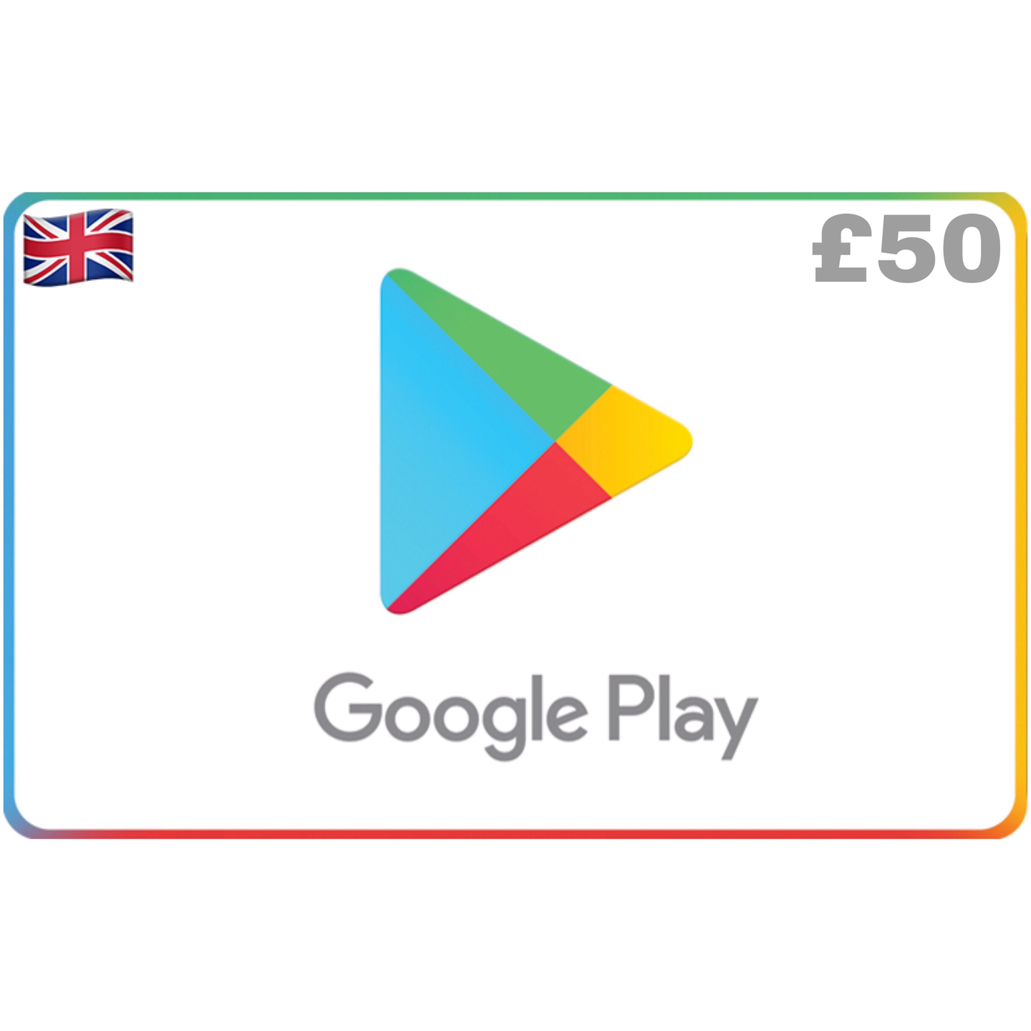 Google Play Gift Card UK £50