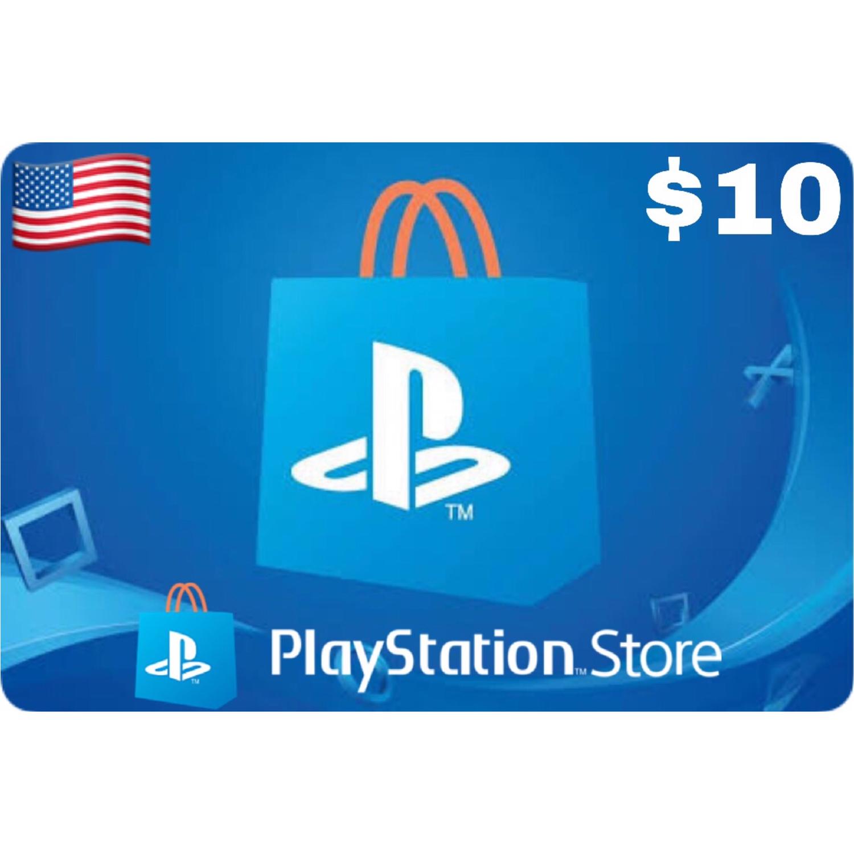 PSN Card - Playstation Network US $10