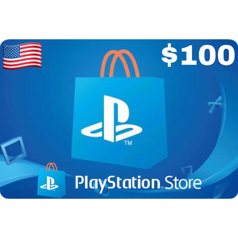 PSN Card - Playstation Network US $100