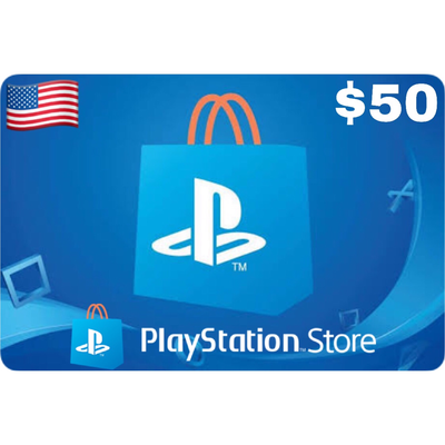 PSN Card - Playstation Network US $50