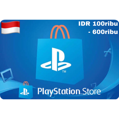 PSN Cards - Playstation Network Indonesia/Asia IDR 100.000 - 600.000
