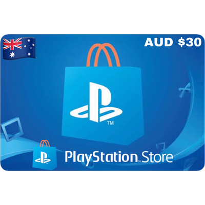 PSN Card - Playstation Network Australia $30