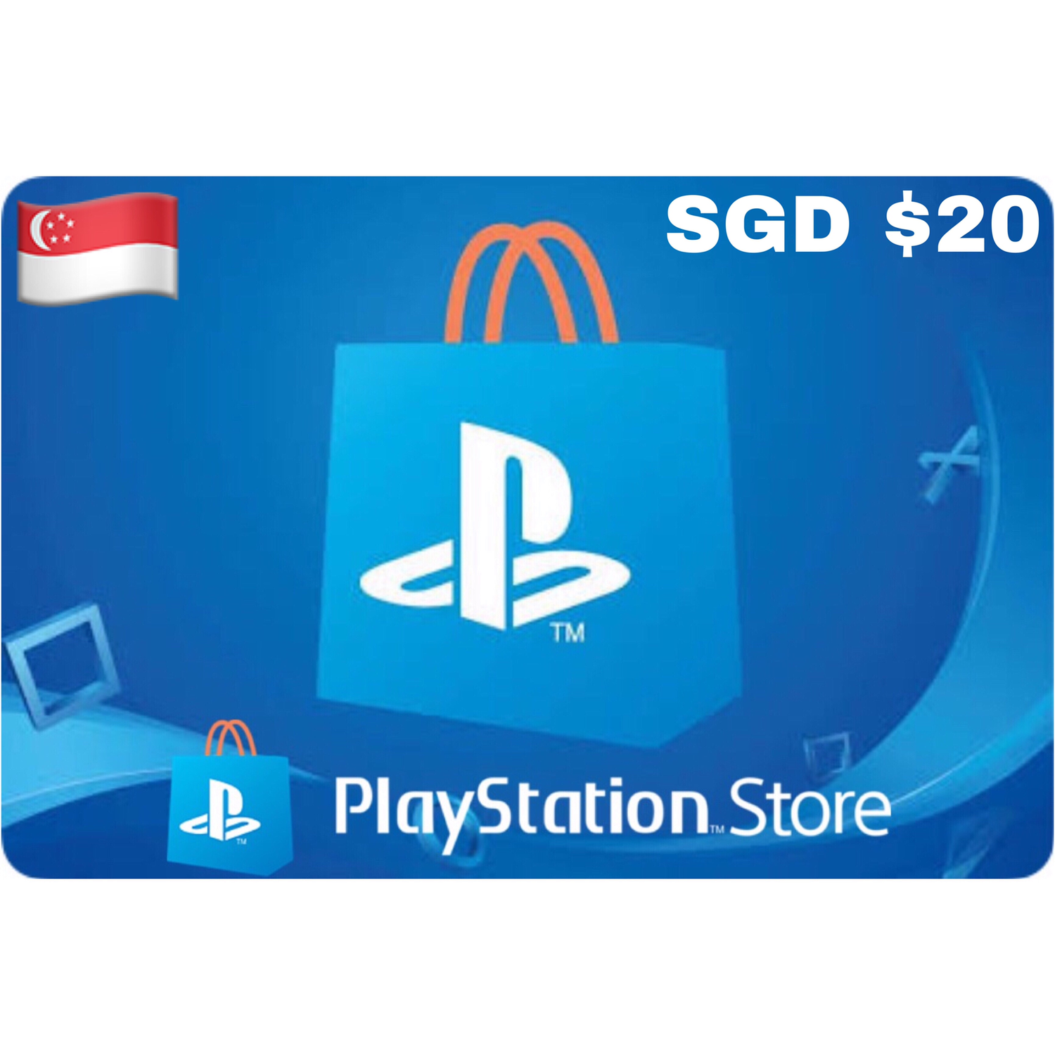 PSN Card - Playstation Network Singapore $20