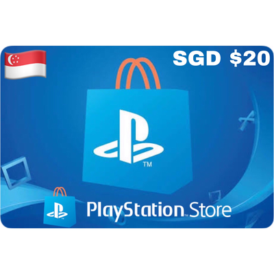 Playstation (PSN Card) SGD $20