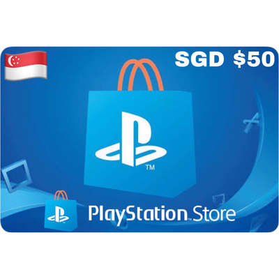PSN Card - Playstation Network Singapore $50