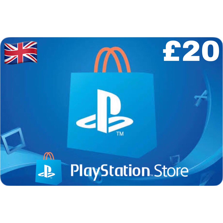 PSN Card - Playstation Network UK £20