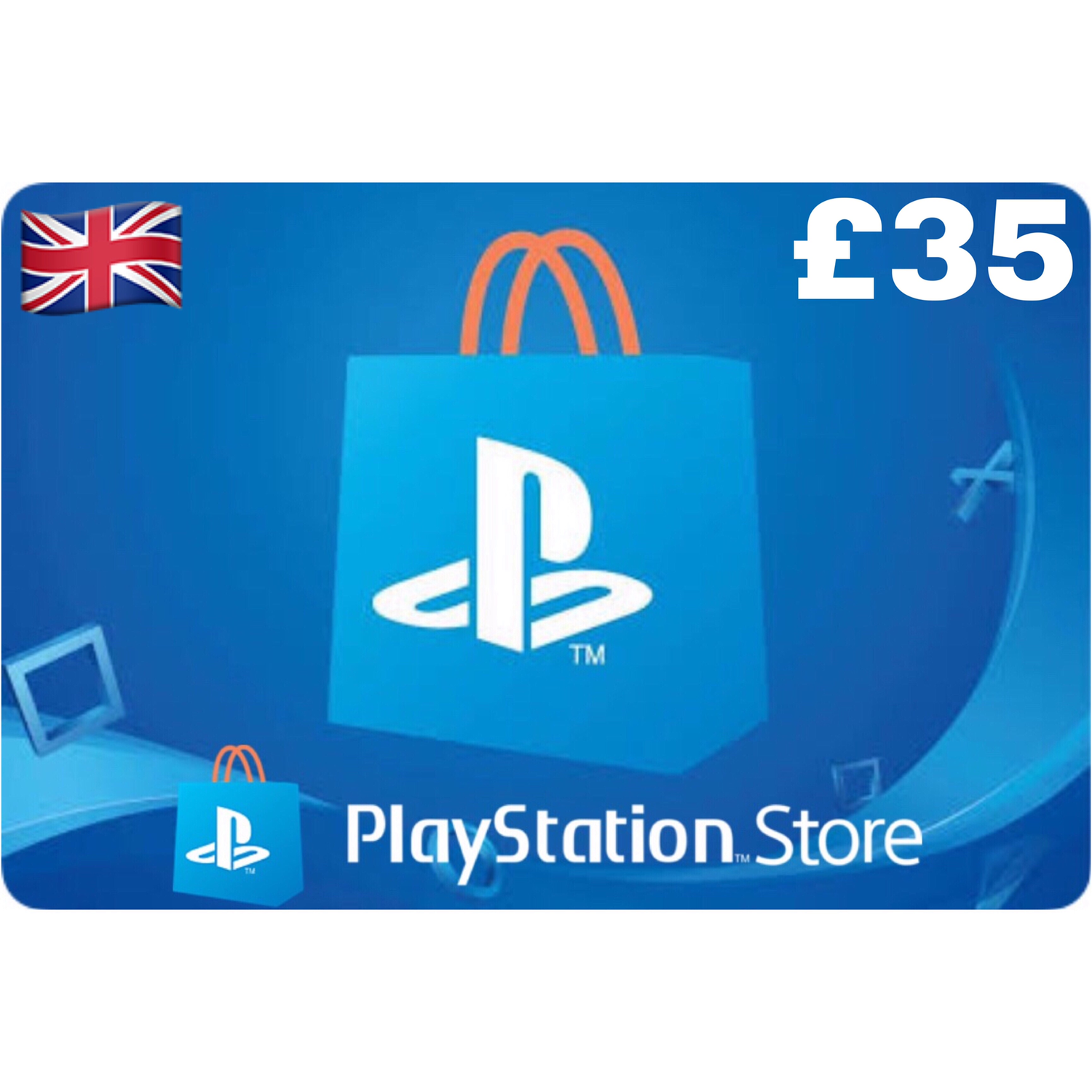 PSN Card - Playstation Network UK £35