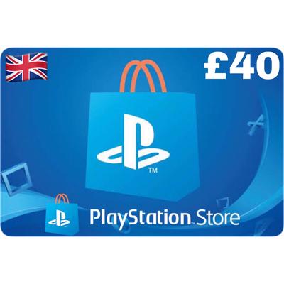PSN Card - Playstation Network UK £40