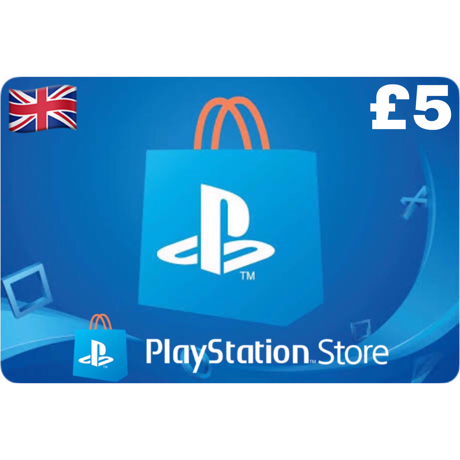 PSN Card - Playstation Network UK £5