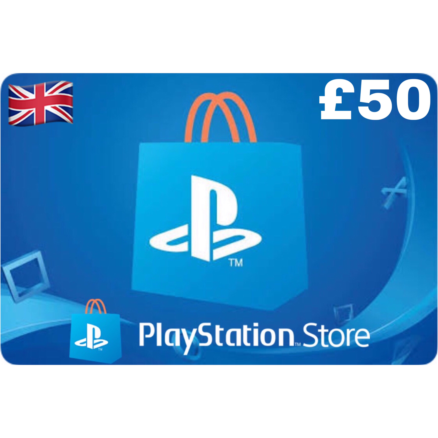 PSN Card - Playstation Network UK £50