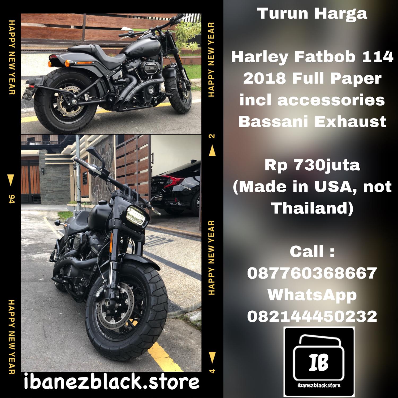 Harley Davidson Fatbob 114 2018 Full Paper