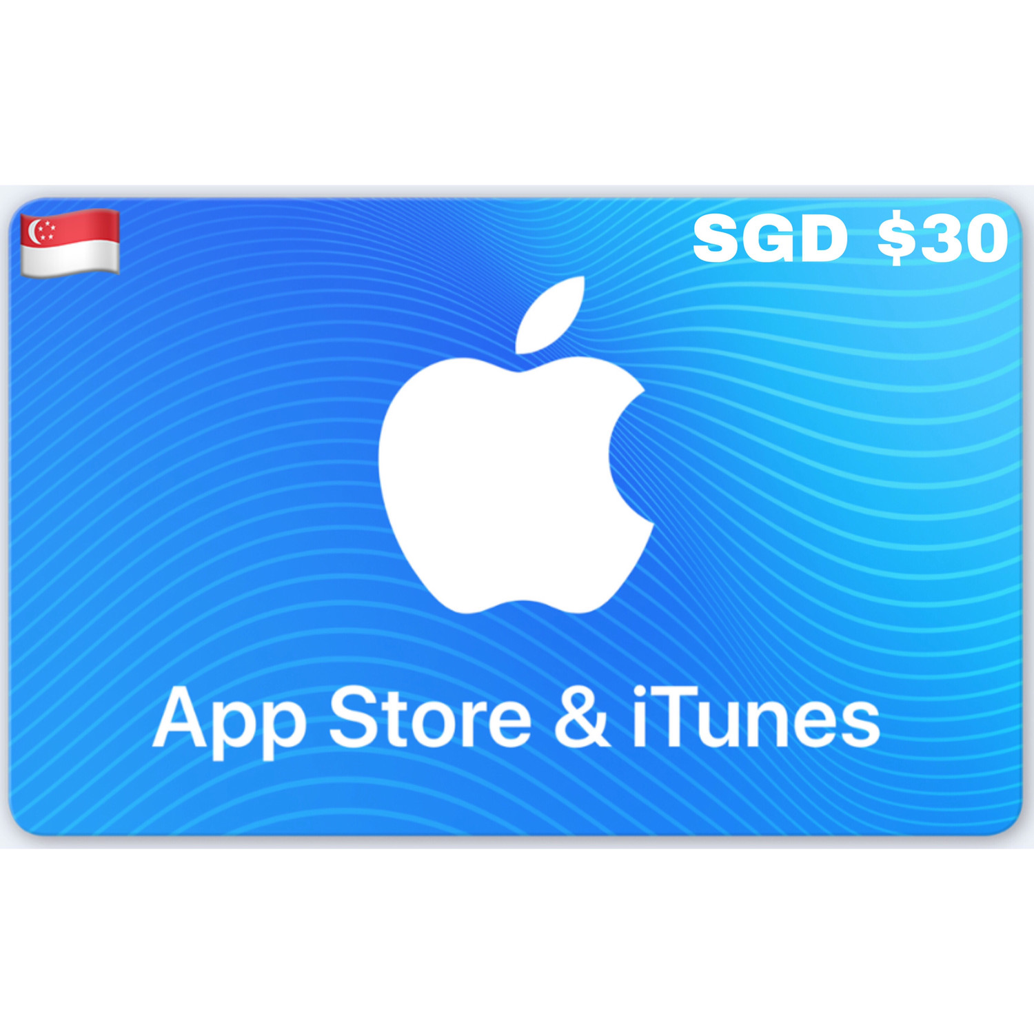 Apple App Store & iTunes Gift Card Singapore SGD $30
