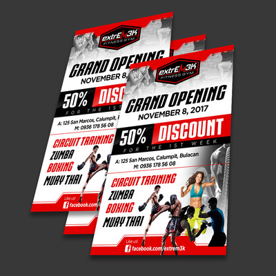 Double Sided Flyer Graphic Designs
