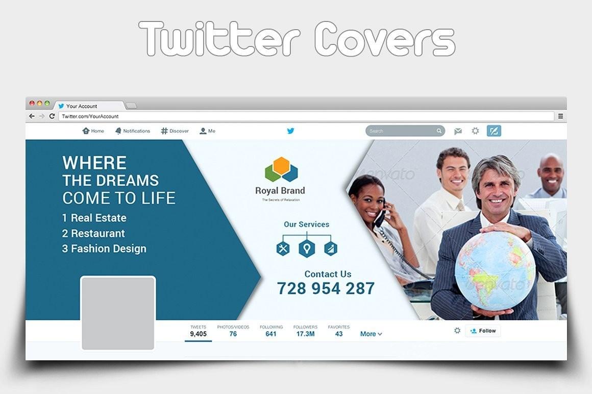 Twitter Cover Design