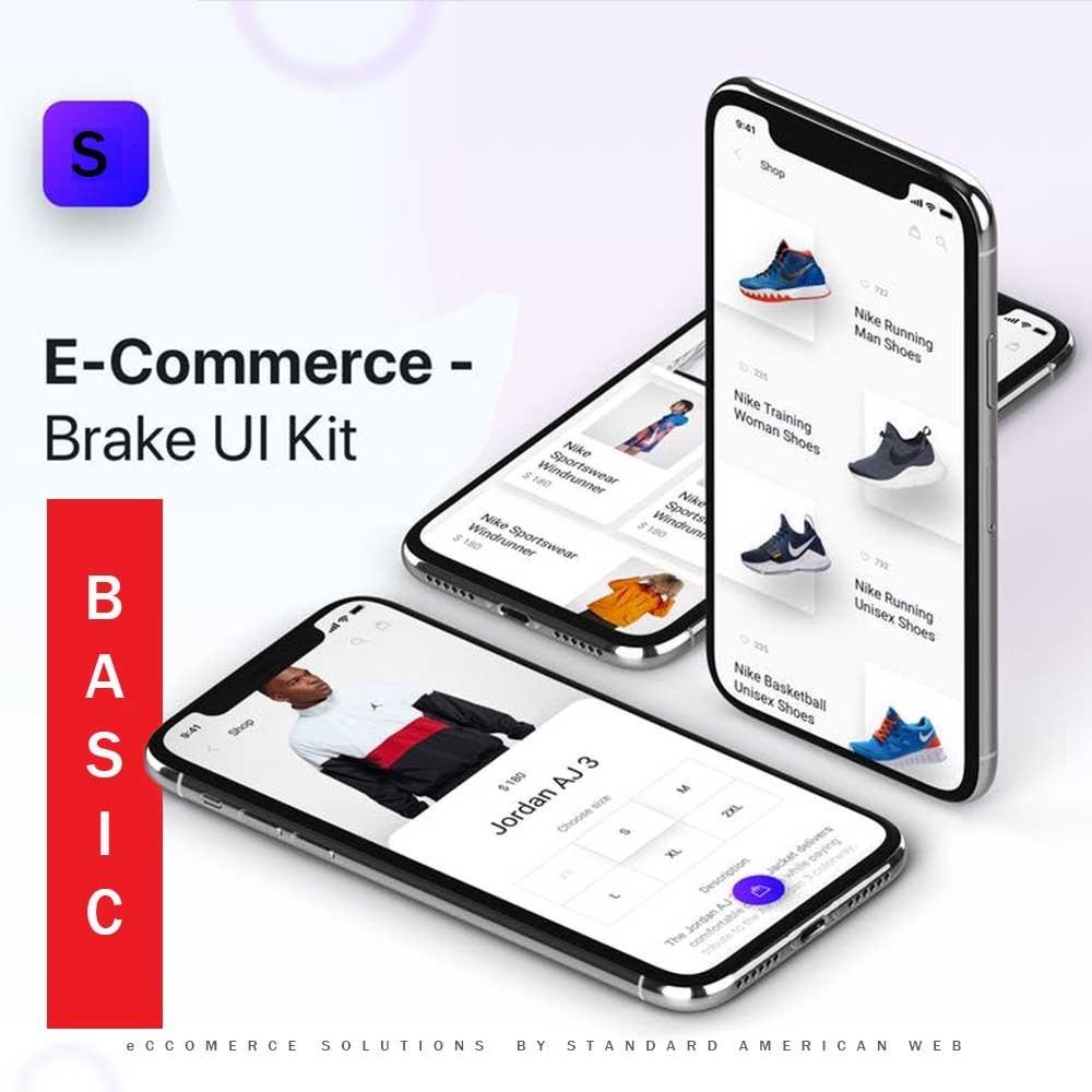 eCcomerce Solution 1 - BASIC