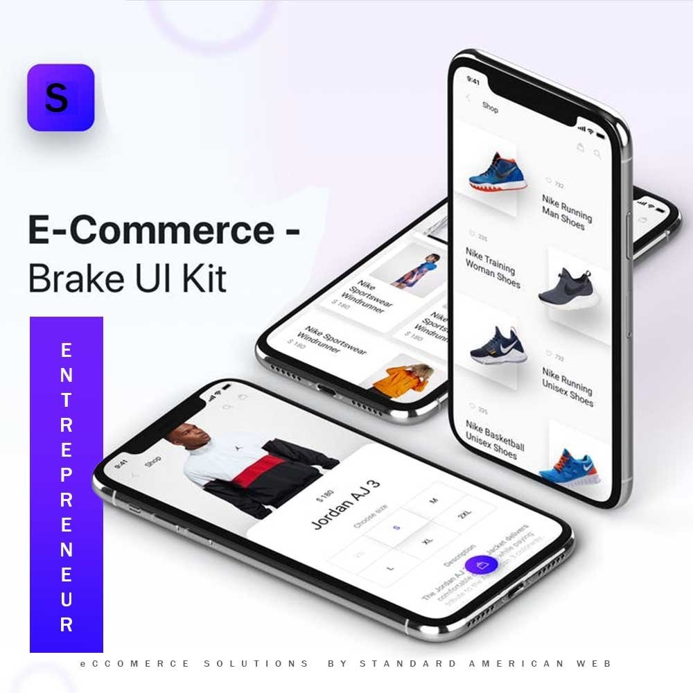 eCcomerce Solution 2 - ENTREPRENEUR