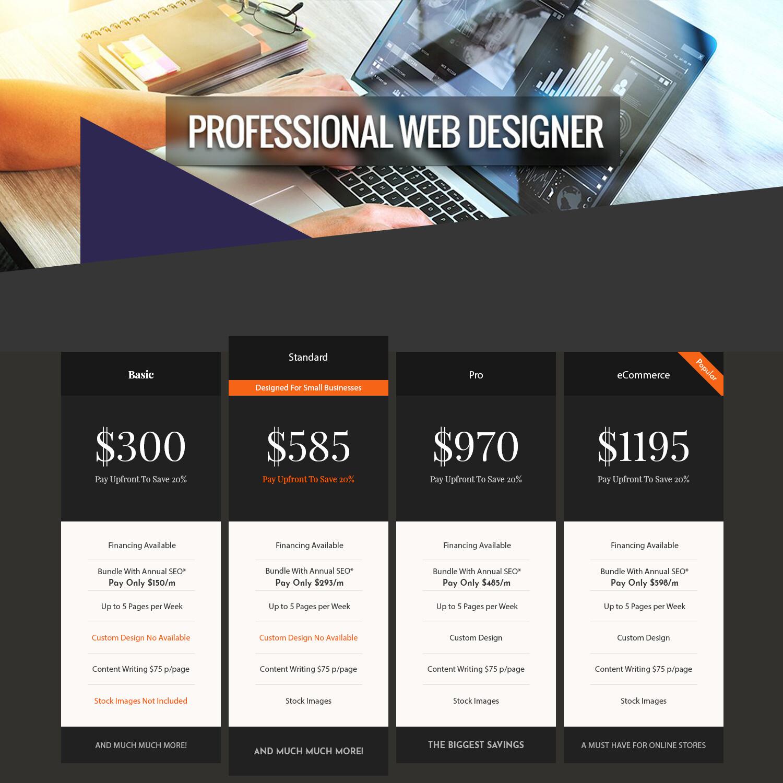 Designer Service Pro Package