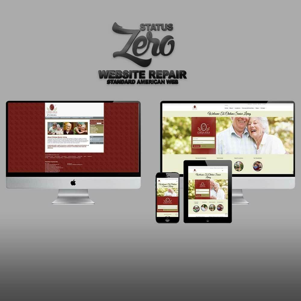 Status ZERO - Website Repair Program