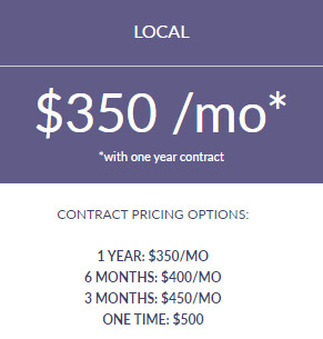 Search Engine Optimization 1 Year Contract - LOCAL