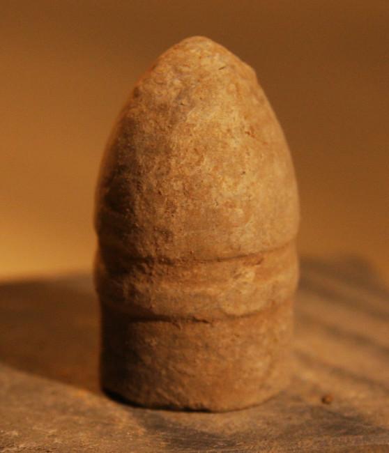 JUST ADDED ON 2/13 - ANTIETAM / NEAR THE MUMMA FARM & EAST WOODS - Confederate Richmond Labs Sharps Bullet