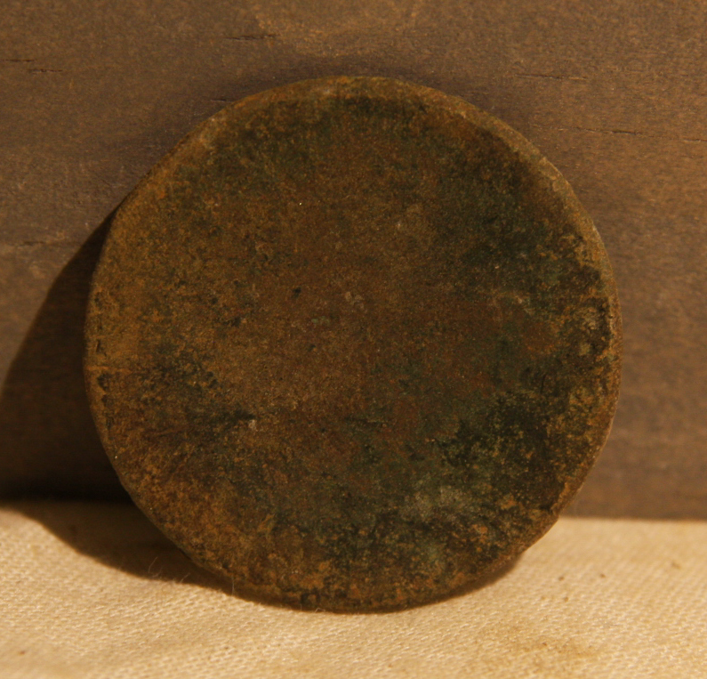 JUST ADDED ON 3/27 - THE BATTLE OF ANTIETAM / MILLER'S CORNFIELD -  Old Copper Coin - Probably Pre-Civil War - Found between 1975 and 1979 A-MC51
