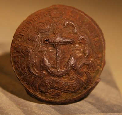 JUST ADDED ON 4/3 - THE SIEGE OF PETERSBURG - Rhode Island Coat Button