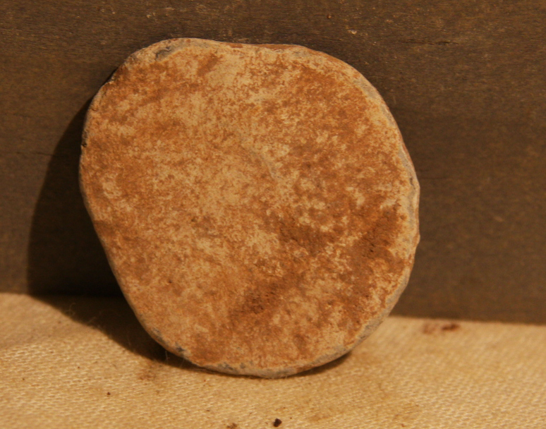 JUST ADDED ON 4/3 - THE BATTLE OF ANTIETAM / MILLER'S CORNFIELD - Flattened Lead - Poker Chip? - Found between 1975 and 1979