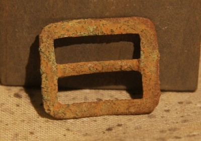 JUST ADDED ON 4/3 - THE BATTLE OF GETTYSBURG / AREA BEHIND THE ROUND TOPS - Soldier's Kepi Slider Buckle