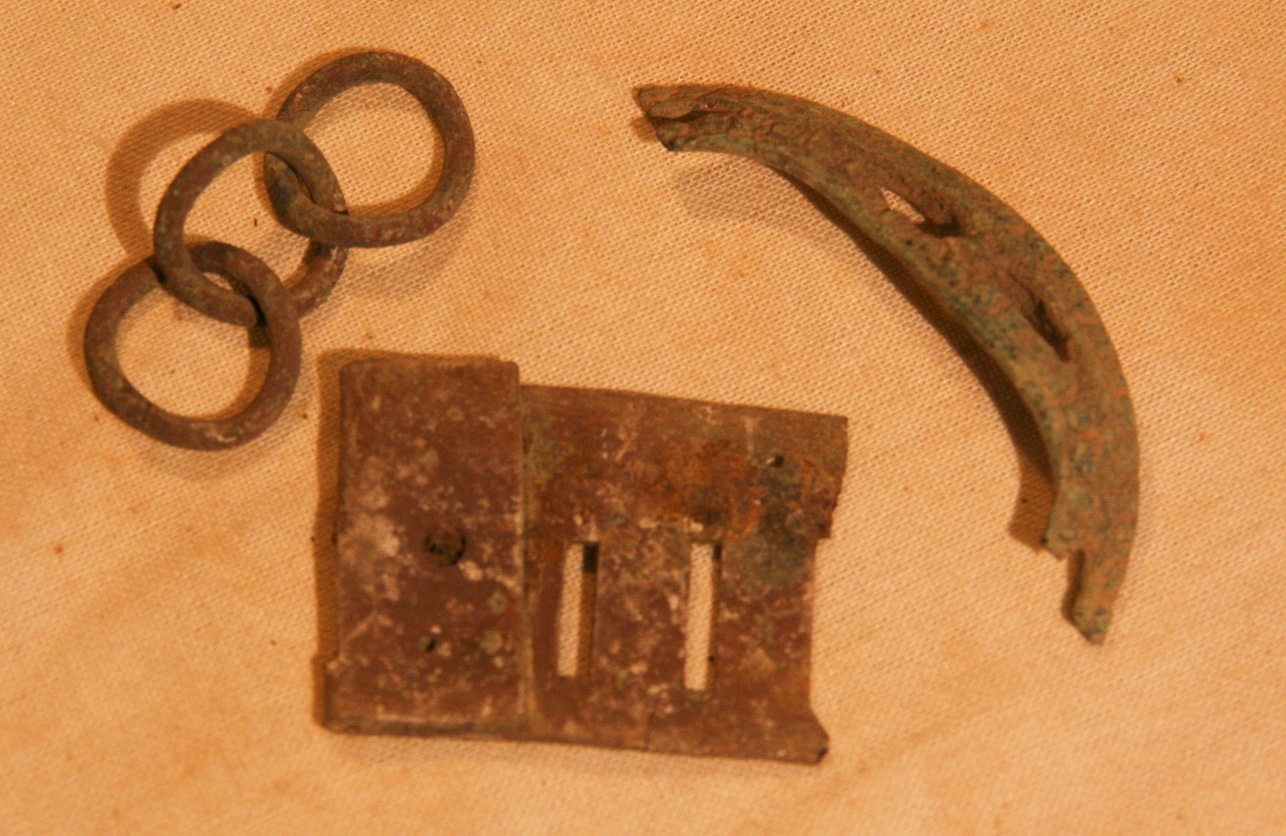 JUST ADDED ON 5/9 - THE BATTLE OF ANTIETAM / MILLER'S CORNFIELD - 3 Relics - Found between 1975 and 1979 A-MC68