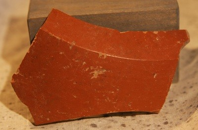 JUST ADDED ON 5/15 - ANCIENT ROMAN EMPIRE / ARCHAEOLOGICAL DIG NEAR TOWCESTER, ENGLAND - A Fragment from the Base of an Ancient Roman Terra Sigillata Bowl or Dish - from an Archaeologist's Collection