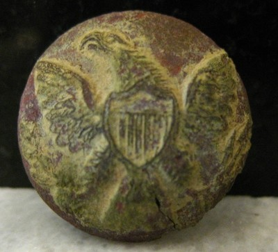 JUST ADDED ON 5/22 - THE BATTLE OF CEDAR MOUNTAIN - Eagle Coat Button