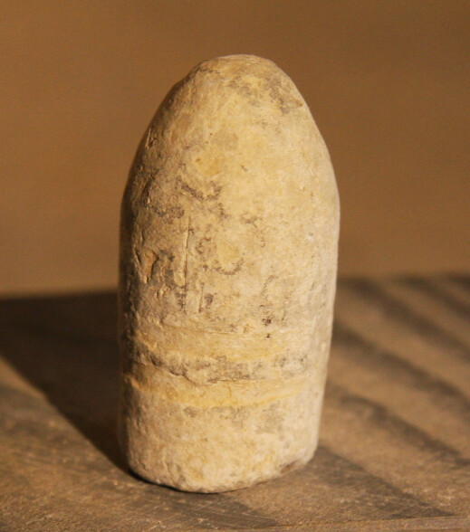 JUST ADDED ON 6/5 - THE BATTLE OF THE WILDERNESS - Fired Confederate Gardner Bullet - Found in 1959