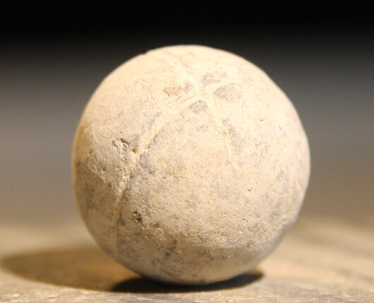 JUST ADDED ON 6/12 - THE BATTLE OF GETTYSBURG / EMMITSBURG ROAD JUST SOUTH OF THE POSITION HELD BY LAW'S BRIGADE - .69 Caliber Musket Ball with Soldier Carved