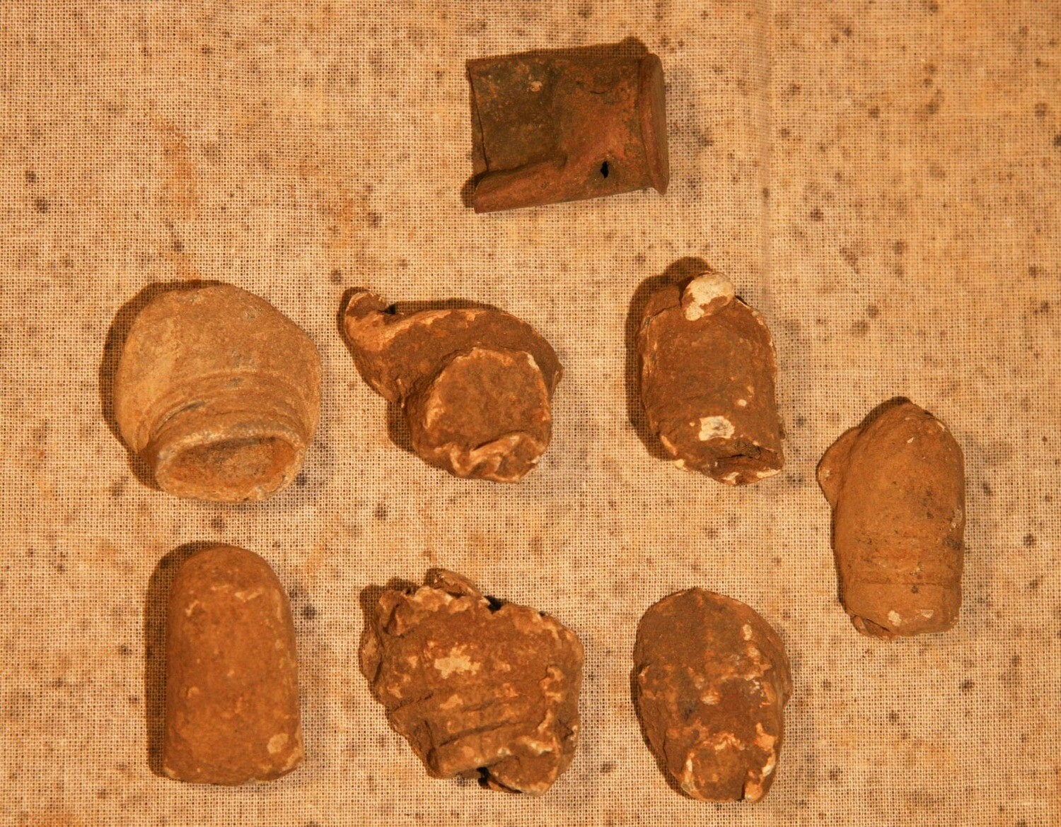 JUST ADDED ON 6/19 - AEON CHURCH NEAR TOTOPOTOMOY - Seven Fired Bullets and a Spencer Casing