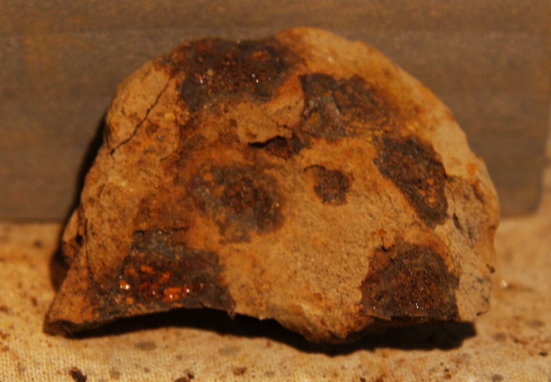 JUST ADDED ON 6/19 - THE BATTLE OF GETTYSBURG / EAST CAVALRY FIELD/ RUMMEL FARM - Small Artillery Shell Fragment recovered by Andy Keyser in the 1980s