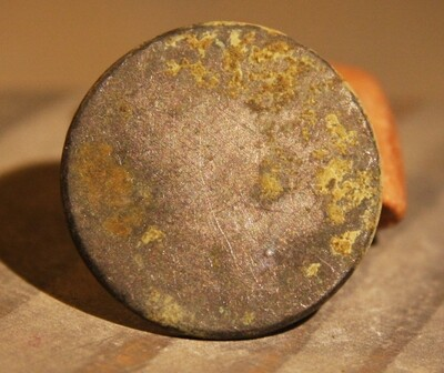 JUST ADDED ON 6/19 - GETTYSBURG - DEVIL'S DEN - ROSENSTEEL FAMILY - Flat / Coin Button
