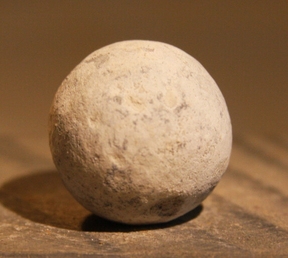 JUST ADDED ON 7/3 - THE BATTLE OF GETTYSBURG / EMMITSBURG ROAD JUST SOUTH OF THE POSITION HELD BY LAW'S BRIGADE - .69 Caliber Musket Ball