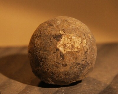 JUST ADDED ON 7/14 - THE BATTLE OF ANTIETAM / MILLER'S CORNFIELD - .69 Caliber Round Ball - Found between 1975 and 1979