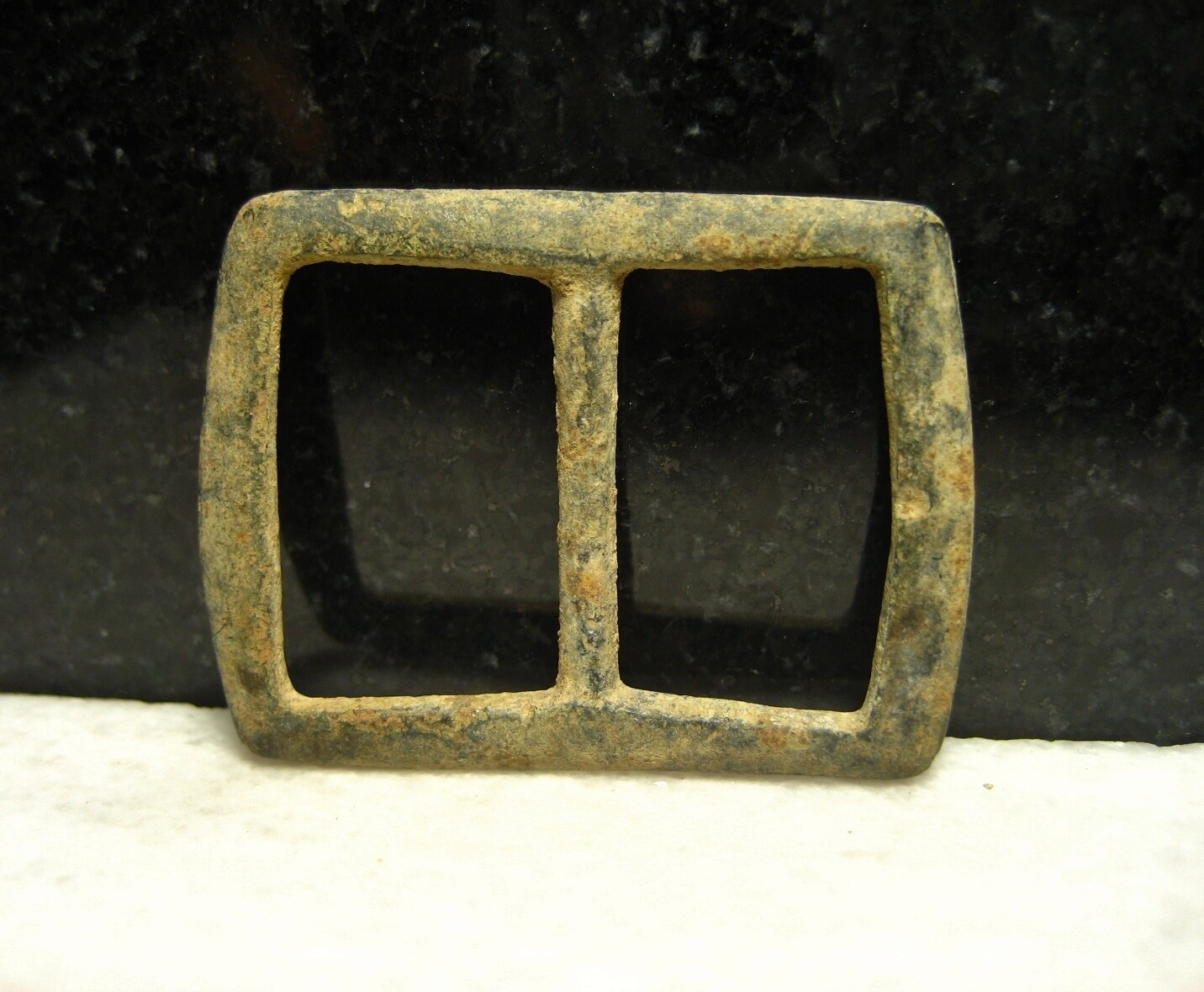JUST ADDED ON 8/29 - ANTIETAM CAMPAIGN / WHITE'S FORD - CONFEDERATE CROSSING POINT ON THE POTOMAC - Brass Buckle