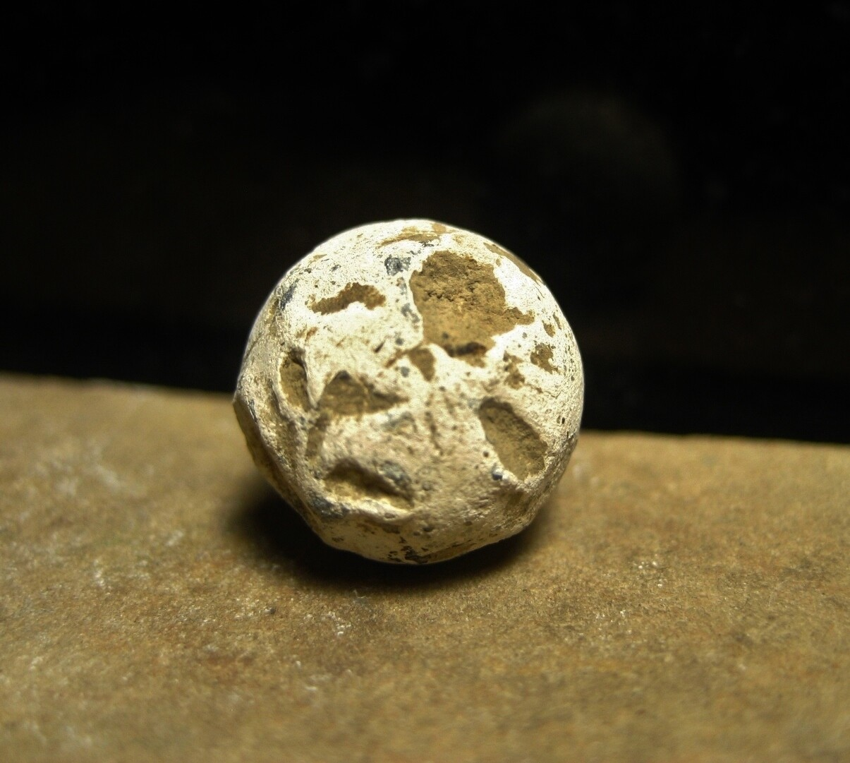JUST ADDED ON 9/12 - BATTLE OF GETTYSBURG / PICKETT'S CHARGE / ROSENSTEEL COLLECTION - .54 Caliber Musket Ball or Case Shot found by John Cullison 1930-1960