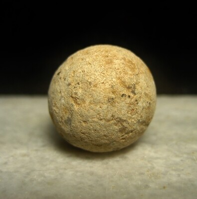 JUST ADDED ON 10/30 - BATTLE OF ANTIETAM / ECKERT FARM / UNION IX CORPS STAGING AREA FOR ATTACK AT BURNSIDE'S BRIDGE AND ARTILLERY POSITION - .69 Caliber Musket Ball found by Andy Keyser